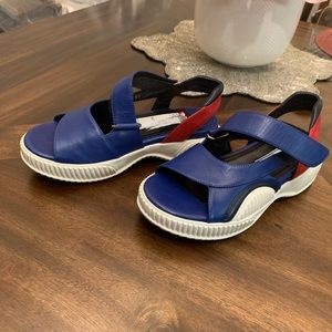 Prada women's loafers sandals slip-on shoes